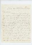 1863-02-09  Lieutenant J.B. Fitch requests a captain's commission from Governor Coburn