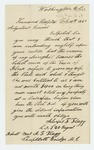 1863-02-10  Alexis F. Flagg requests state aid for his wife