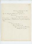 1863-02-10  Adjutant John Marshall Brown sends copy of the 1862 Annual Return of Alterations & Casualties