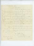1863-02-11  Captain Samuel Keene recommends Sergeant Warren Kendall for promotion