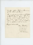 1863-02-14  William Pitcher and other citizens of Belfast recommend Sergeant Kendall for commission in the USCT