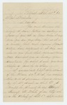 1863-02-16  John H. Quimby recommends Sergeant Russell H. White for promotion