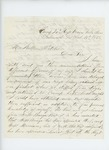 1863-02-16  Warren L. Kendall writes William Pitcher, Esq. and forwards his personal recommendations