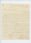 1863-02-20  Grenville Baker requests a captain's commission in the USCT