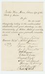 1863-02-24  Andrew Fuller and citizens of Warren recommend Alden Miller for promotion