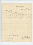 1863-02-26  Special Order 93 mustering out Captain J.L. Bangs, Jr. so he can receive promotion