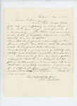 1863-03-04  S.L. Milliken recommends Sergeant White for promotion