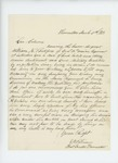 1863-03-05  E.W. Robinson, Thomaston postmaster, recommends William K. Bickford for promotion
