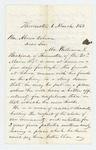 1863-03-06  A.P. Gould recommends William Bickford for promotion