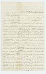 1863-03-09  Henry C. Merriam asks for promotion to Lieutenant Colonel and recommends his brother for promotion