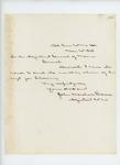 1863-03-20  John Marshall Brown sends the February monthly return