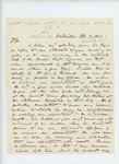 1863-04-07 N.R. Burtelle inquires about vacancies in the medical field
