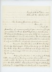 1863-04-07  Chaplain Luther P. French recommends Frederic W. Lane for promotion