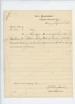 1863-04-10  Special Order 164 revoking the appointment of 2nd Lieutenant M.Sanborn