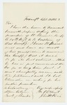 1863-04-11  John H. Rice recommends the promotion of Lieutenant Merrill of Company B