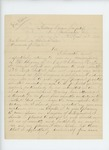 1863-04-14  A.W.K. Andrews declines a commission as Assistant Surgeon