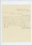 1863-05-11  Dr. Nahum P. Monroe requests that hospital steward George M. Baker be appointed 2nd assistant surgeon