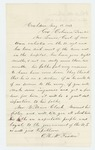 1863-05-15  O.H. McFadden requests a furlough for the ailing Lewis Carl