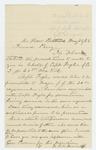 1863-05-26  Dr. S.A. Bennett recommends Captain Fogler for promotion