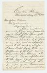 1863-05-27  Erastus Foote recommends Ellis Spear for promotion to Major