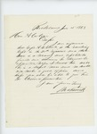 1863-06-15  Mr. Farwell recommends Captain Atherton W. Clark for promotion to Major