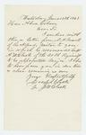 1863-06-18  Joseph W. Clark forwards a recommendation from N.A. Farwell regarding Captain Atherton W. Clark