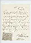 1863-06-23  Colonel Strong Vincent recommends Captain Prentiss M. Fogler for promotion