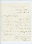 1863-07-29  Colonel Adelbert Ames and Colonel Chamberlain recommend Captain Fogler for promotion