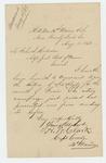 1863-08-11  Captain Atherton W. Clark sends regimental returns to Adjutant General Hodsdon