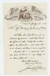 1863-08-18  James Cochrane recommends Captain Prentiss M. Fogler for promotion