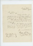 1863-08-22  Warren Sheldon requests a recommendation as police detective