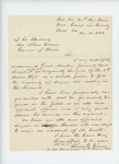1863-08-31  Lieutenant Colonel Charles Gilmore recommends Dr. Martin for surgeon