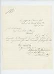1863-09-09  Lieutenant Colonel Charles Gilmore sends August 1863 regimental return