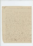 1863-09-21  Orison Rollins asks why Davis Laribee is not reported as a deserter