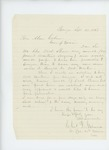1863-09-25  Charles Gilmore requests promotion of Dr. Shaw to surgeon