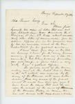 1863-09-27 Lieutenant Colonel Charles Gilmore encloses recommendations for Colonel Joshua Chamberlain