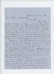 1863-10-06  Lyndon Oak requests a discharge for L.M Rideout, who is incapacitated by illness