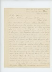 1863-10-23  Lieutenant Colonel Charles Gilmore requests promotion of assistant surgeon Abner O. Shaw