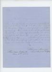 1863-11-03  Freeman Conner, Lieutenant Colonel 44th NY, recommends Lieutenant Nichols for promotion