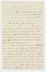 1863-11-04  Luther French recommends Abner Shaw and officers of the regiment for promotion