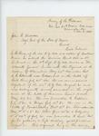 1863-11-06  Colonel Gilmore writes Adjutant General Hodsdon, praising Lieutenant Colonel E.B. Knox of the 44th NY Volunteers