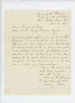 1863-11-12  Lieutenant Colonel Charles Gilmore recommends Corporal John Lynde, Jr. to Samuel Dale, Mayor of Bangor