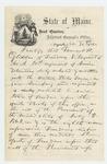 1863-11-30  Adjutant General Hodsdon certifies enlistment of Samuel H. Glidden and others