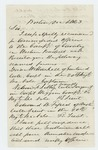 1863-12-01  John H. Rice recommends Isaac Haskell, Nelson Libby, Edward [Fifield ?] for cavalry positions