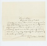 1863-12-09  Josiah Carr certifies Captain F. W. Whiting's fitness for duty