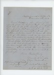 1863-12-11  Frank L. Grindle and Ezra B. Harden inquire about re-enlistment and furlough