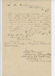 1863-12-16  William Ludwig, Benjamin French and Edward Cassidy request furloughs