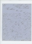 1863-12-19  Captain Prentiss M. Fogler inquires about men re-enlisting in the 2nd Maine Cavalry or 7th Maine Battery