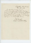 1863-12-30  Captain E.A. Nash verifies condition of company commanded by Lieutenant James Nichols