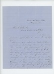 1863-12-31  Captain Joseph Fitch writes in favor of the promotion of Weston H. Keene